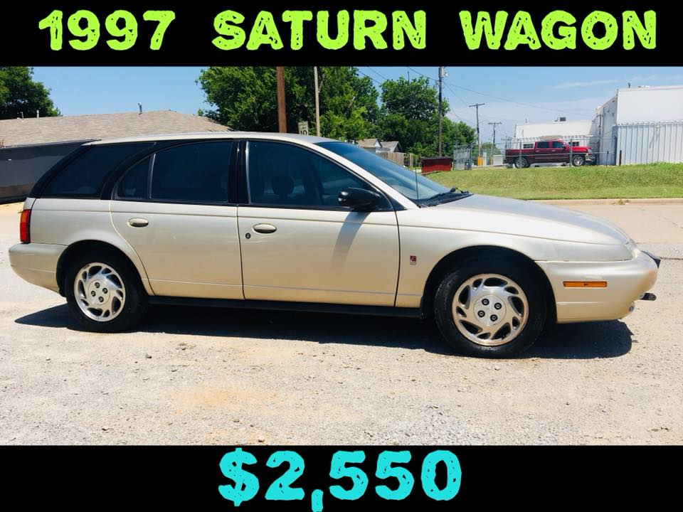 1997 SATURN WAGON  $2,550
