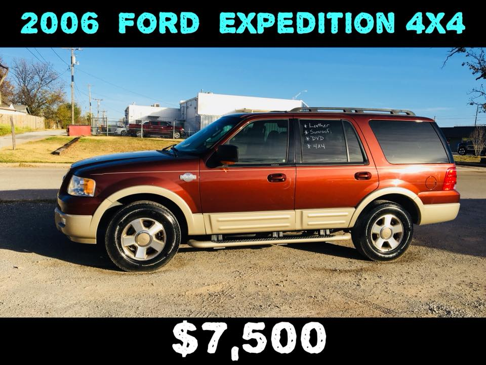 2006 Ford Expedition King Ranch 4WD  $7,500