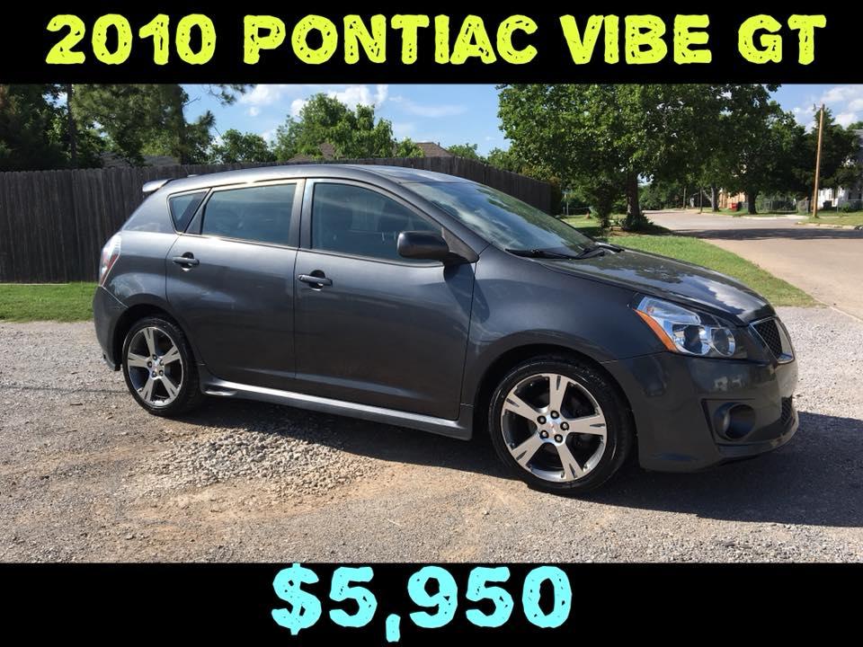 2010 PONTIAC VIBE GT  $5,950