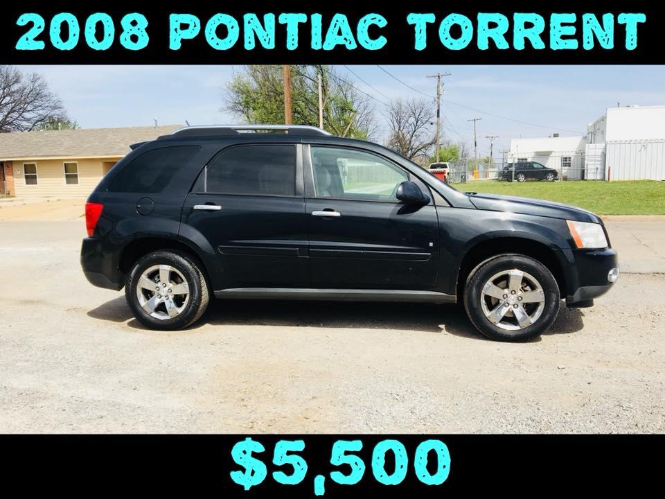 2008 Pontiac Torrent Sport  $5,500