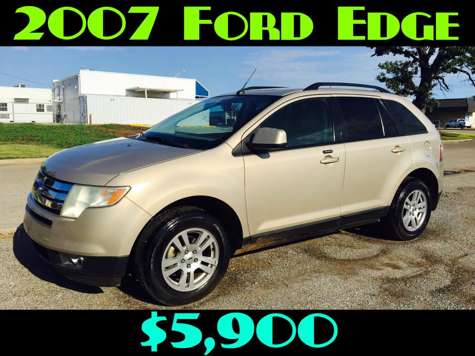 2007 Ford Edge SEL  $5,900