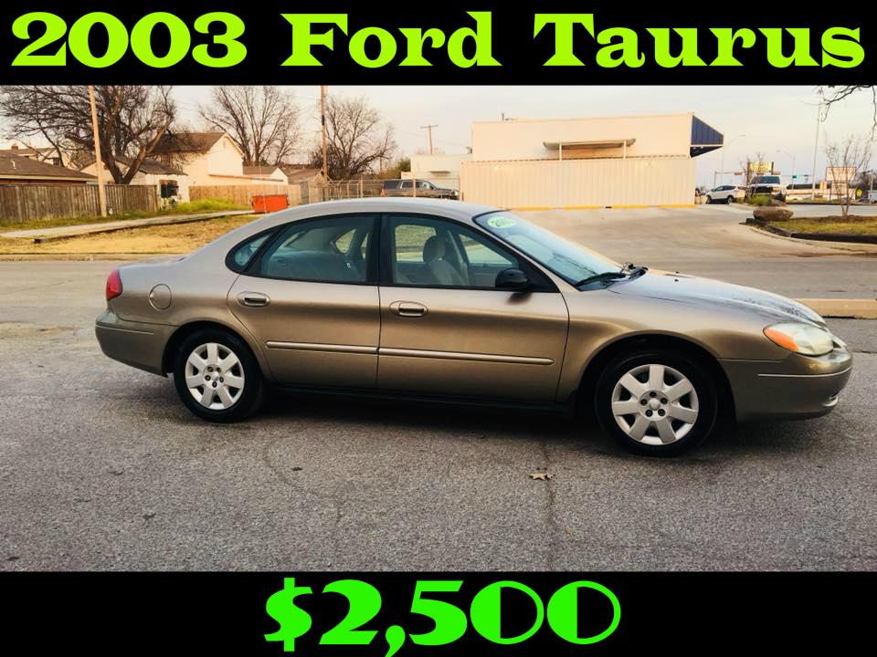 2003 Ford Taurus LX Sedan 4D  $2,500