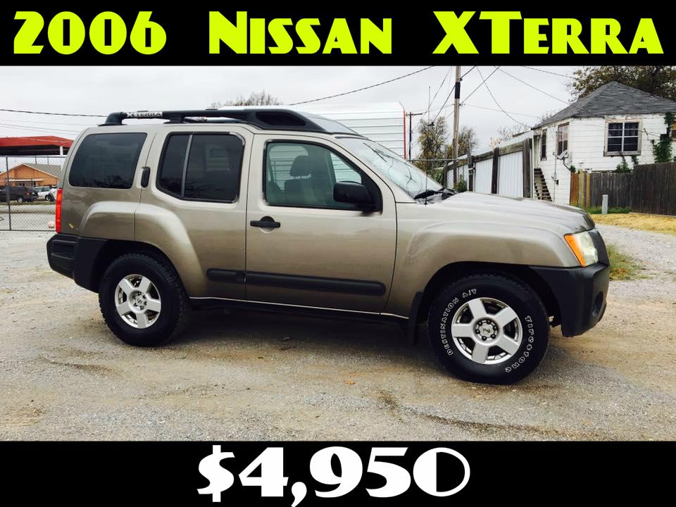 2006 NISSAN XTERRA  $4,950